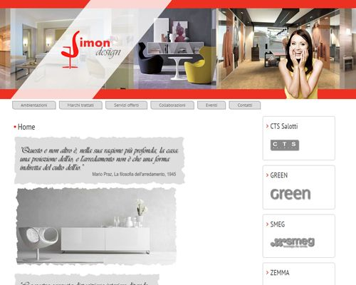 sito web simon design